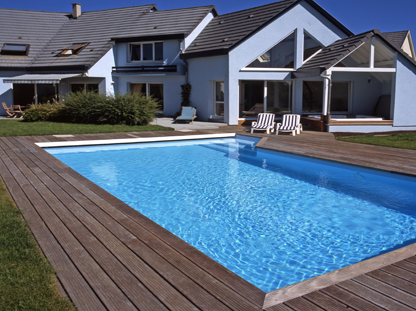 Amenagement autour piscine photos amenagement autour - Amenagement autour d une piscine hors sol ...
