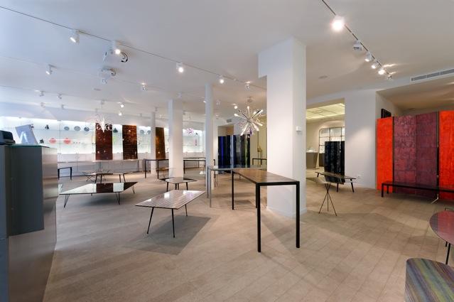 am nagement d 39 une galerie d 39 art paris batiglobal. Black Bedroom Furniture Sets. Home Design Ideas