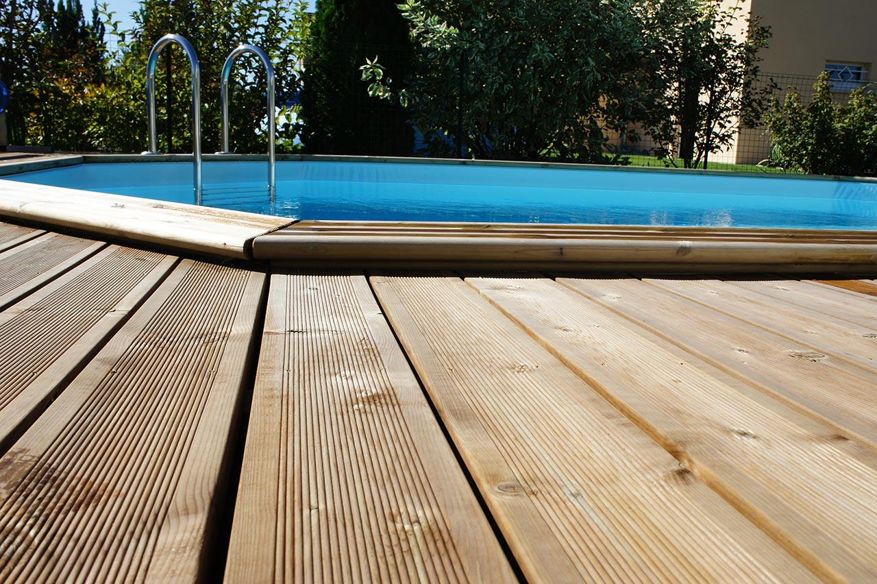 cr ation d une piscine semi enterr e batiglobal. Black Bedroom Furniture Sets. Home Design Ideas