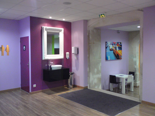 am nagement d 39 une salle de sport amazonia nancy batiglobal. Black Bedroom Furniture Sets. Home Design Ideas