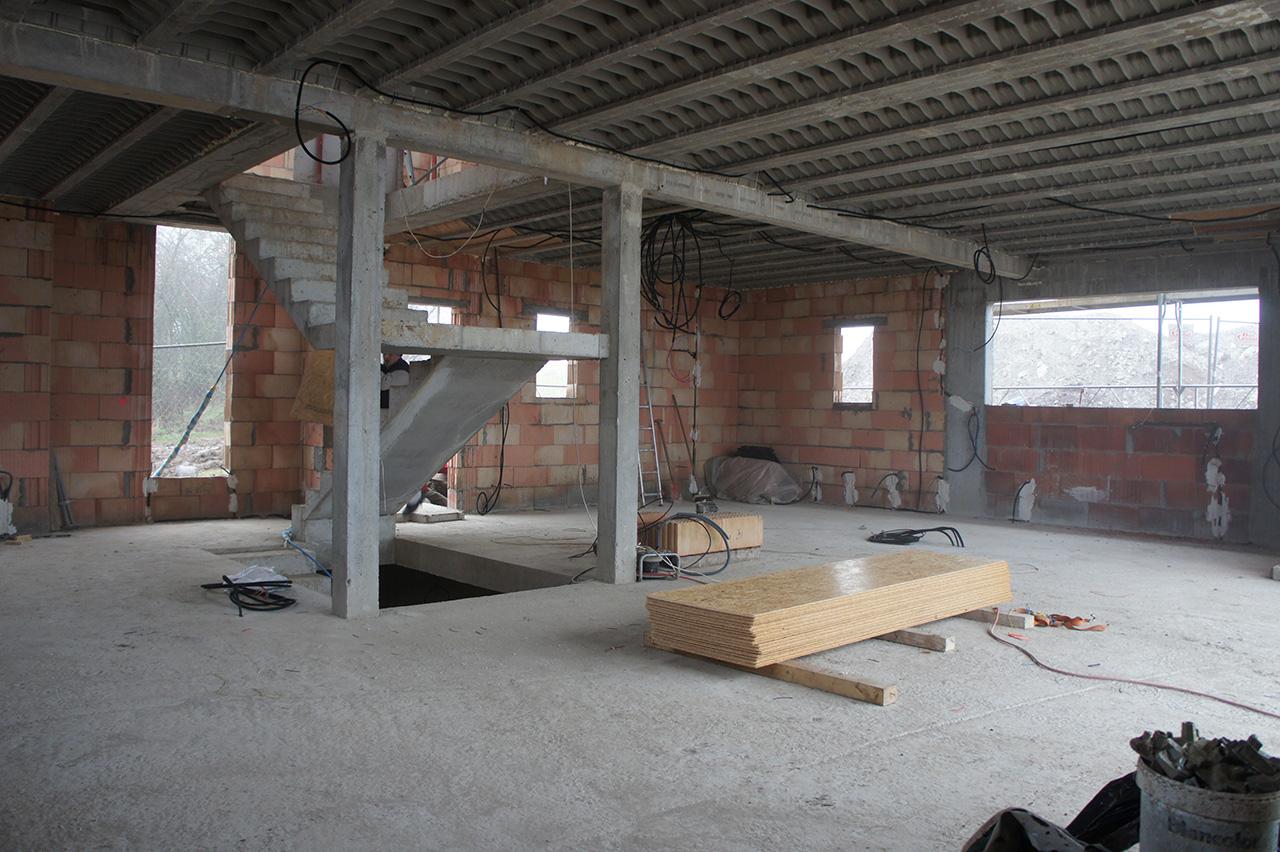 Projet de construction strasbourg 67 batiglobal for Construction garage en beton